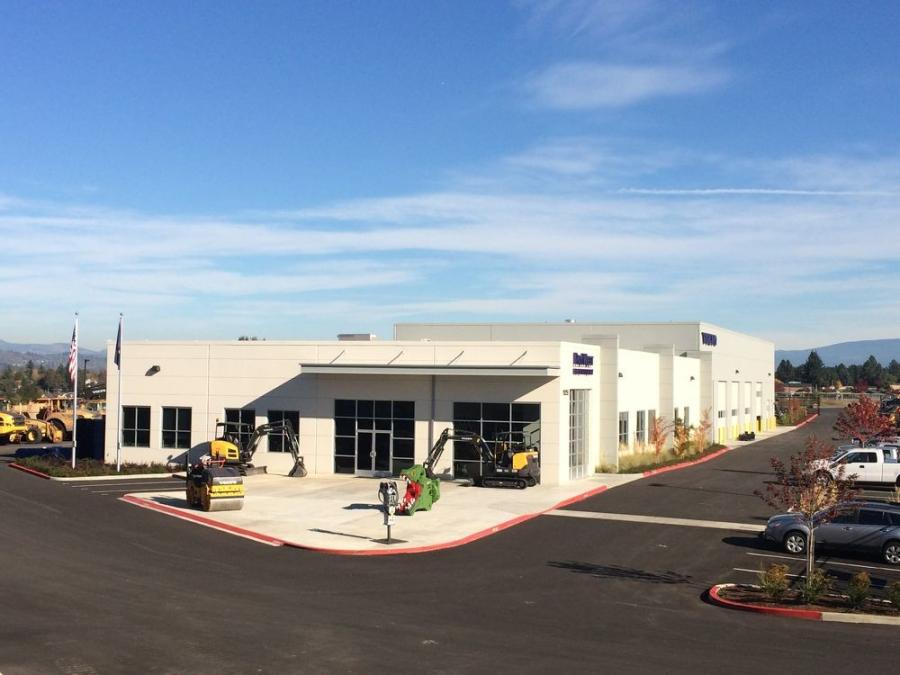 PacWest Machinery's new dealership in Portland, Ore., is 22,000 sq. ft. on 6 acres with an expanded parts warehouse and 10-bay shop.