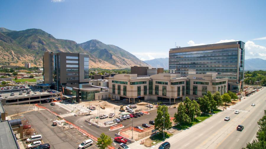 The Utah Valley Hospital project is funded through bonds (50 percent), patient revenue (40 percent) and philanthropy (10 percent).