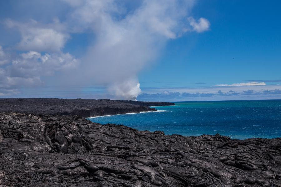 PISCES has been researching Hawaii Island's volcanic basalt as a feedstock for in-situ resource utilization for space exploration, and has confirmed that basalt fines found in local quarries meet the specifications necessary to produce basalt fiber.