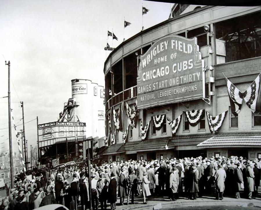 A new dawn began for the Cubs with the investment of chewing gum magnate William Wrigley, who eventually would go on to take over the team from Weeghman.