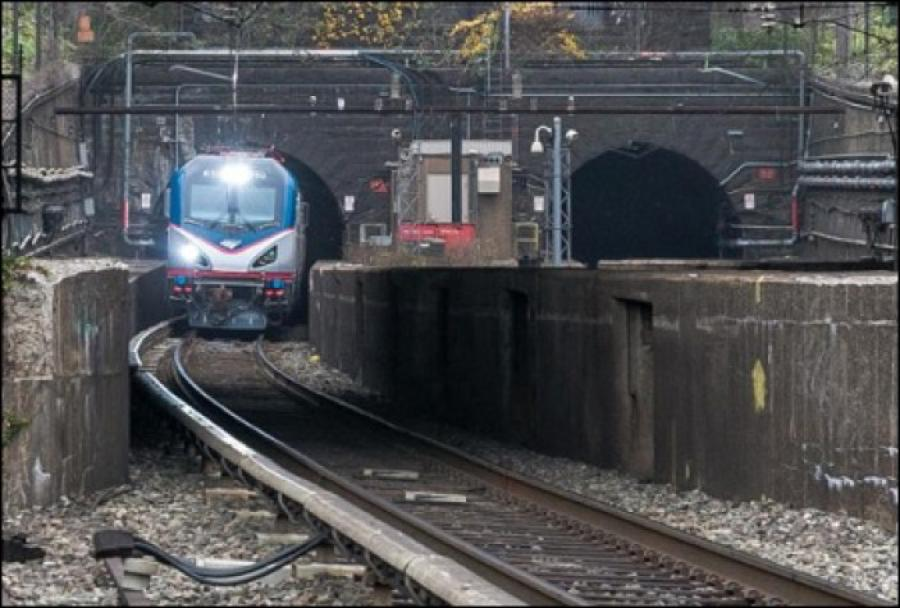 The long-planned project would add a new two-track tunnel to augment the two aging, single-track tubes now handling trains moving between the two states under the Hudson.