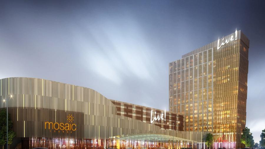 Live! Casino & Hotel Philadelphia is due to open in 2020.