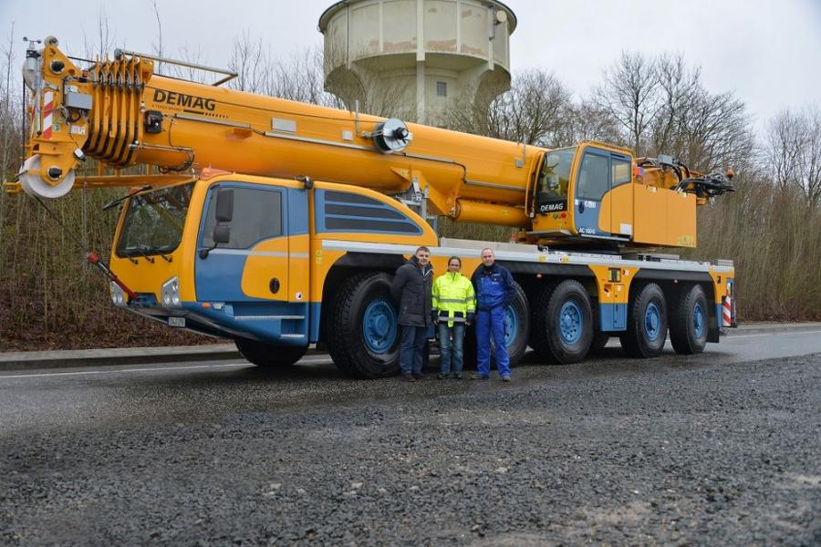 Since December 2017, a Demag AC 160-5 all terrain crane has been added to the fleet of crane specialist Mayer Autokran-Vermietung from Burgberg in the German Allgäu region.