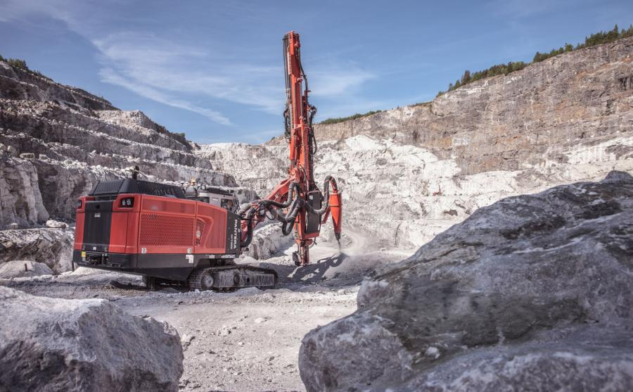 Sandvik has taken the well-known DPi series surface top hammer drill rigs to a new level with upgrades to their productivity and economy.
