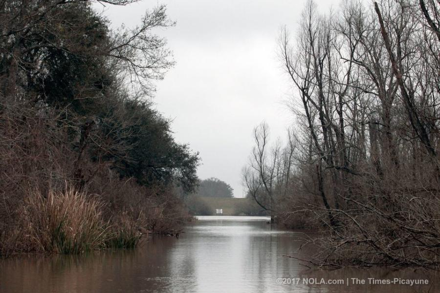 A crude oil pipeline is proposed to cross the Atchafalaya Basin.