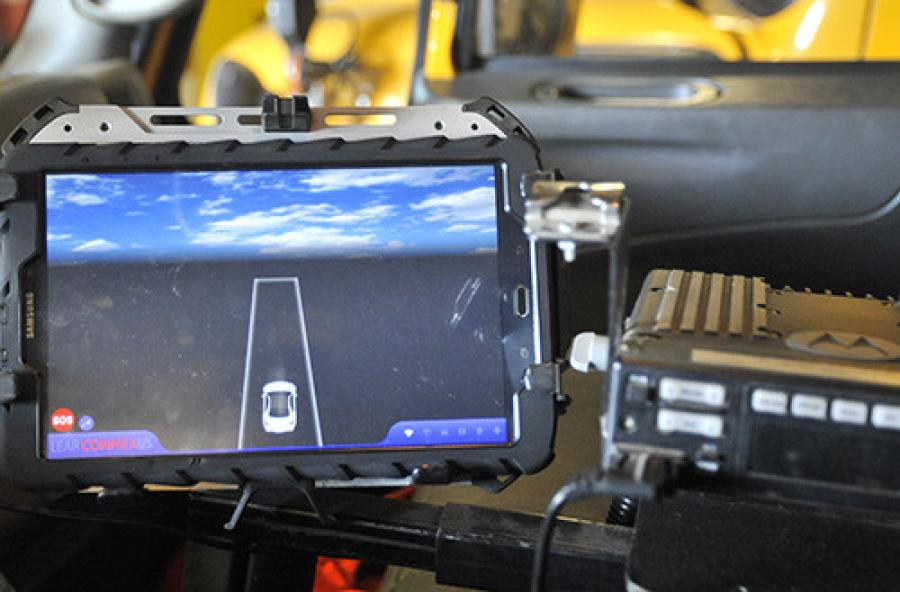 The Wyoming Department of Transportation, the University of Wyoming and their partners demonstrated the new connected vehicle technology recently in Cheyenne.