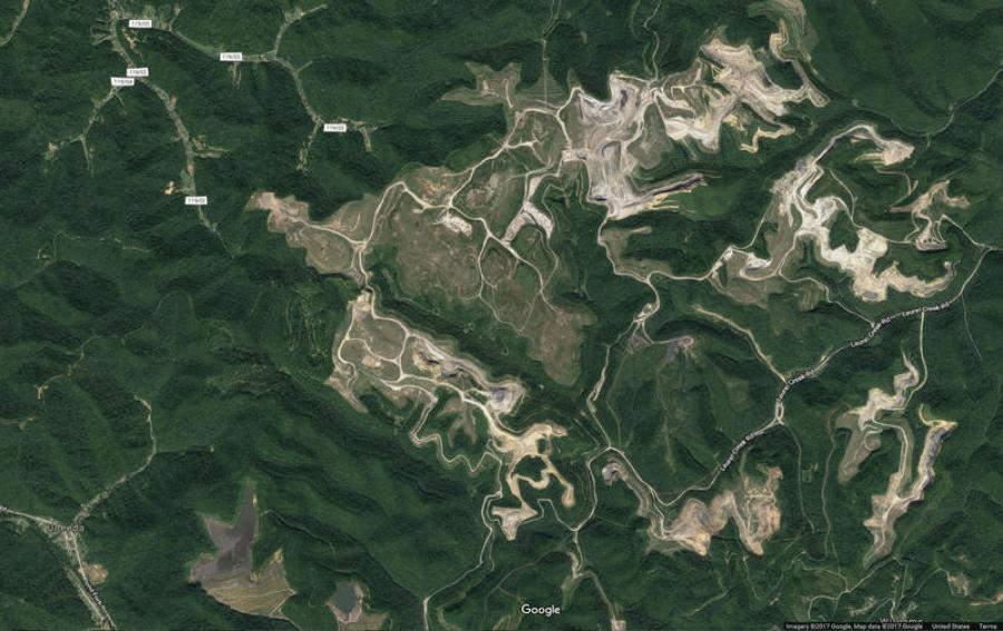 the West Virginia Army National Guard will use part of the former Hobet surface mine site for a training facility for all military branches.