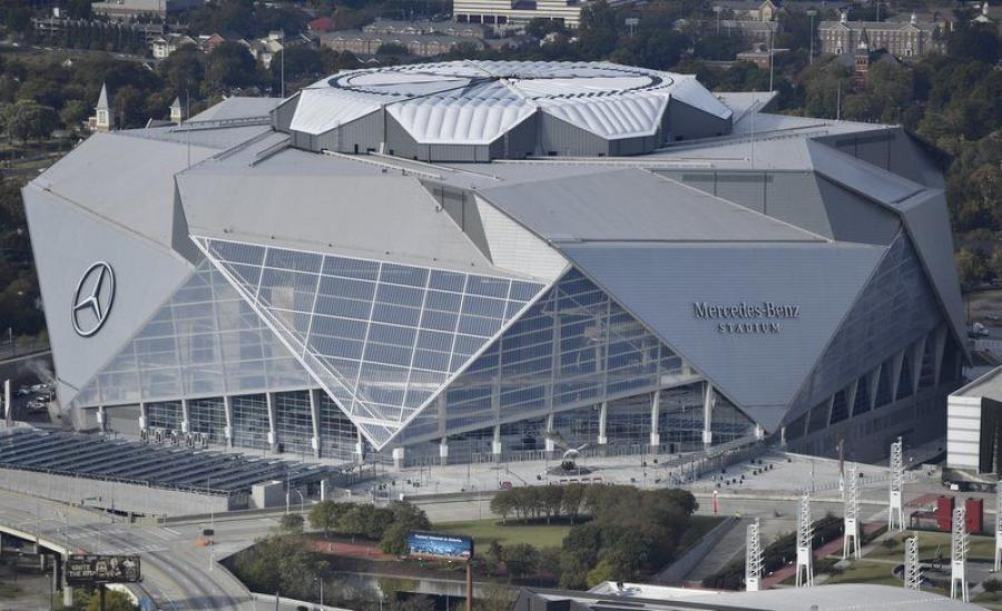Mercedes-Benz Stadium drew record-breaking crowds for a number of major sporting events, including the Atlanta Falcons NFL games and United MLS matches.
