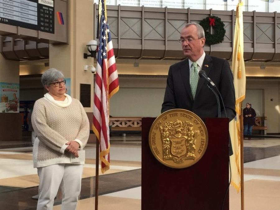 Gov.-elect Phil Murphy announced Diane Gutierrez-Scaccetti as his choice for transportation commissioner.