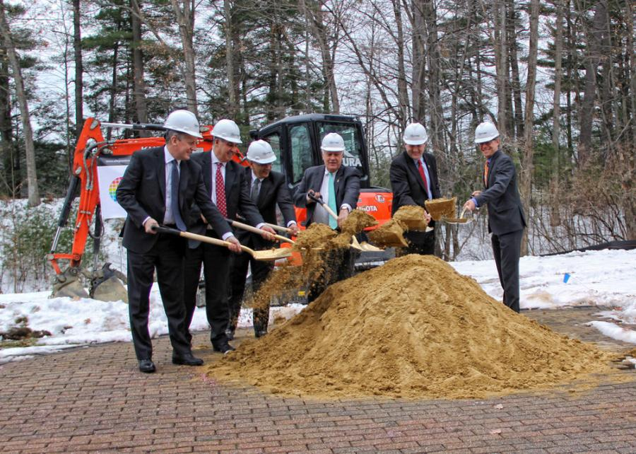 Allegro MicroSystems LLC, a company that develops high-performance power and sensor semiconductors, held a groundbreaking ceremony on Dec. 19 on a 15,000-sq. ft. expansion at its Manchester, N.H., facility.