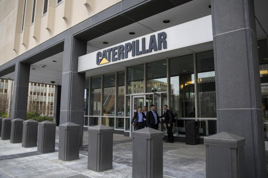 The (Peoria) Journal Star reported Jan. 9, that a Caterpillar filing with the SEC at the end of the first week of January for the first time listed the company's address for principal executive offices in Deerfield.