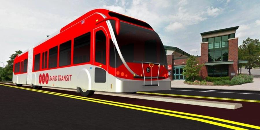 The Red Line will run from Broad Ripple to the University of Indianapolis. 