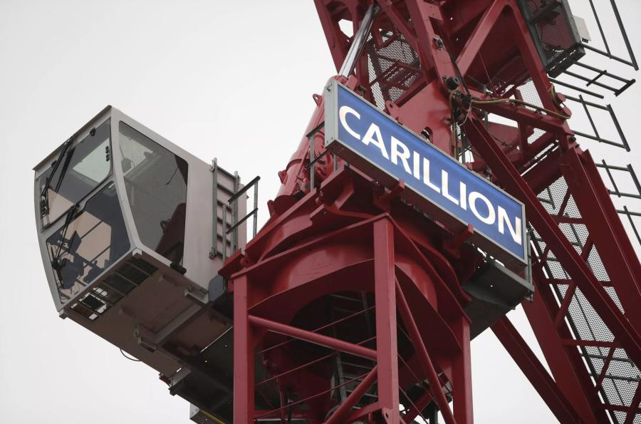 Carillion has been struggling to reorganize for the past six months amid debts of about 900 million pounds ($1.24 billion) and a pension deficit of 590 million pounds ($ 814 million).