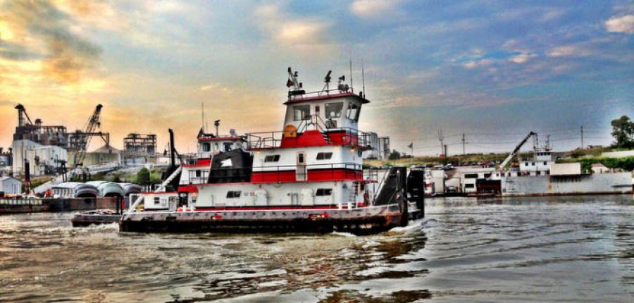 The Coast Guard is coordinating operations to salvage the 66-ft. motor vessel Ricky Robinson.  (Wepfer Marine photo)
