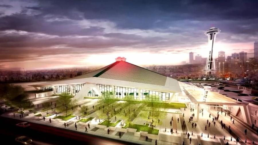 The Seattle City Council on Dec. 4, approved a memorandum of understanding with Oak View Group to privately finance a roughly $600 million remodel that would nearly double the square footage of KeyArena. 