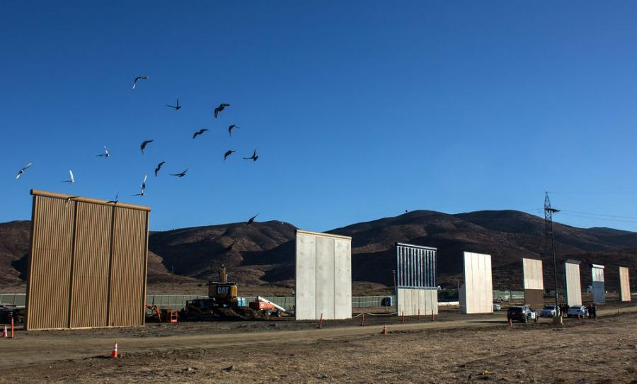 In 2017, Fisher Sand and Gravel was among six companies selected to build a border wall prototype in California.