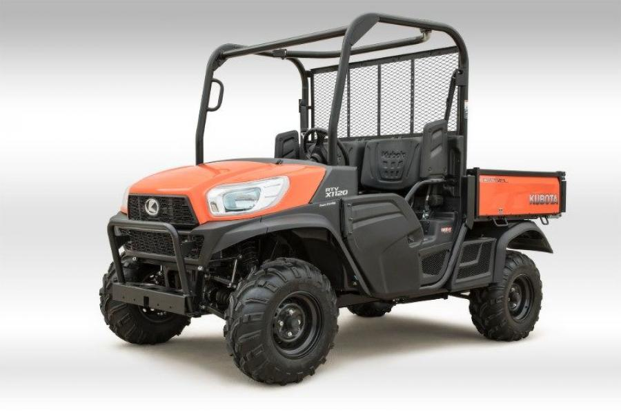 Introducing the RTV-X1120, Kubota's Best-Valued Utility Vehicle.