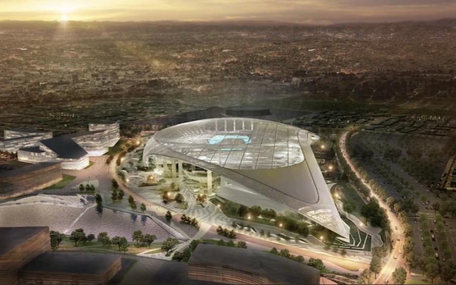 The stadium complex also will include a hotel, retail space, office space and a 6,000-seat entertainment venue.