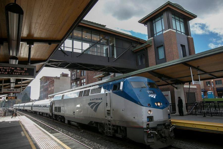 The Hartford Line website provides future Hartford Line riders a taste of what to expect when the service launches in May 2018. (Dave Zajac/Record-Journal photo)