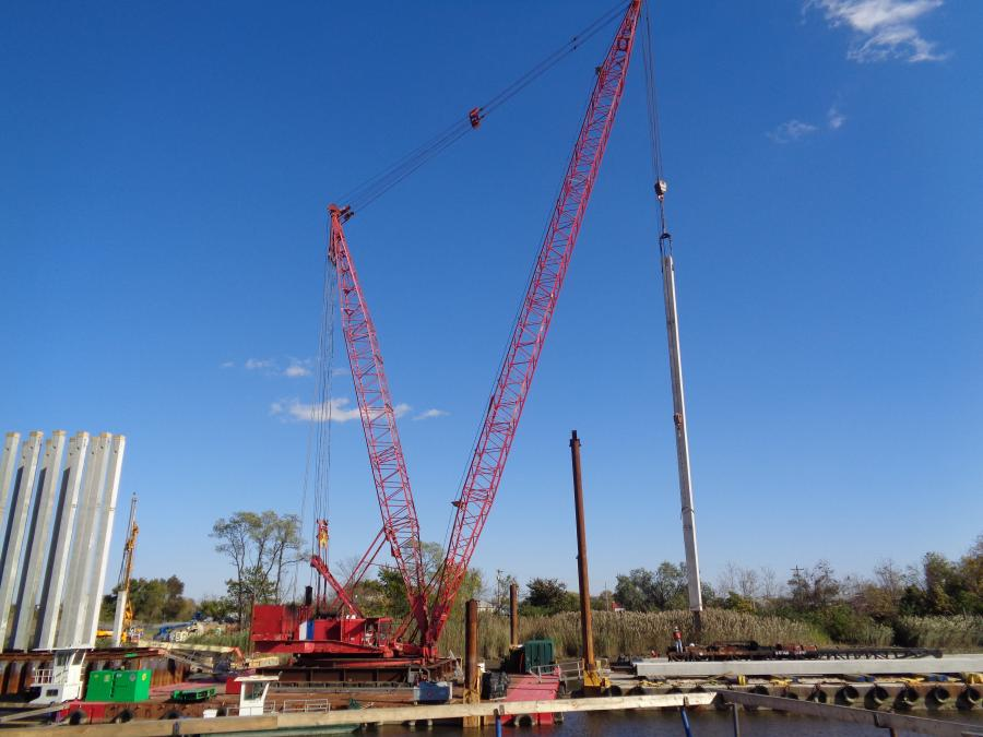 The $28.3 million contract calls for the construction of a new bridge over the Christina River to the Wilmington Riverfront and U.S. 13.