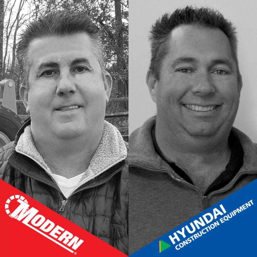 Ron Dortone Sr. (L) and Sam Maury were ranked among the top five Hyundai sales reps in the United States.