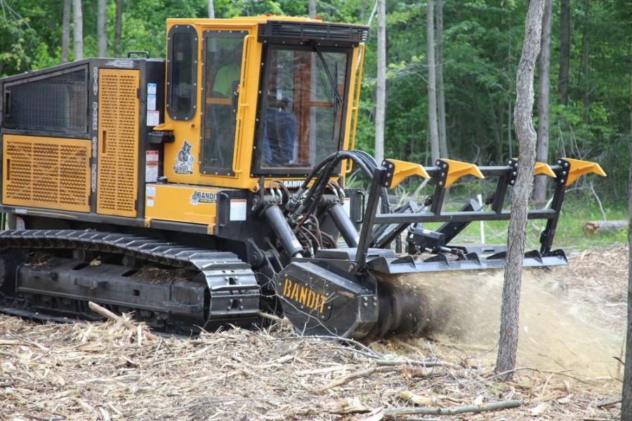 The BTC-300 rides on powerful Cat 315 steel tracks. Engine options are available from John Deere, Cat and Volvo up to 321 hp.