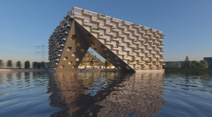 Architects Look To Floating Building Designs As The Climate Shifts