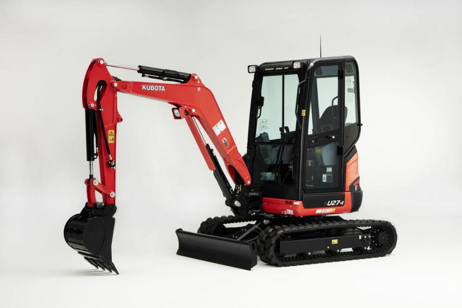 The new U27-4 will replace the U25S model for Kubota.