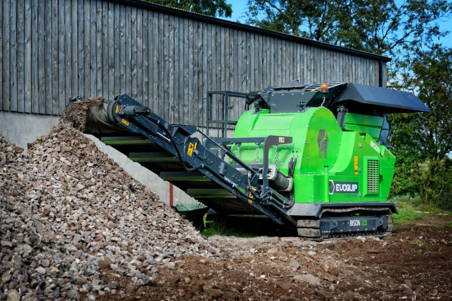 The EvoQuip Bison 120 jaw crusher is small enough to fit inside a container for transport but strong enough to withstand the toughest of applications.
