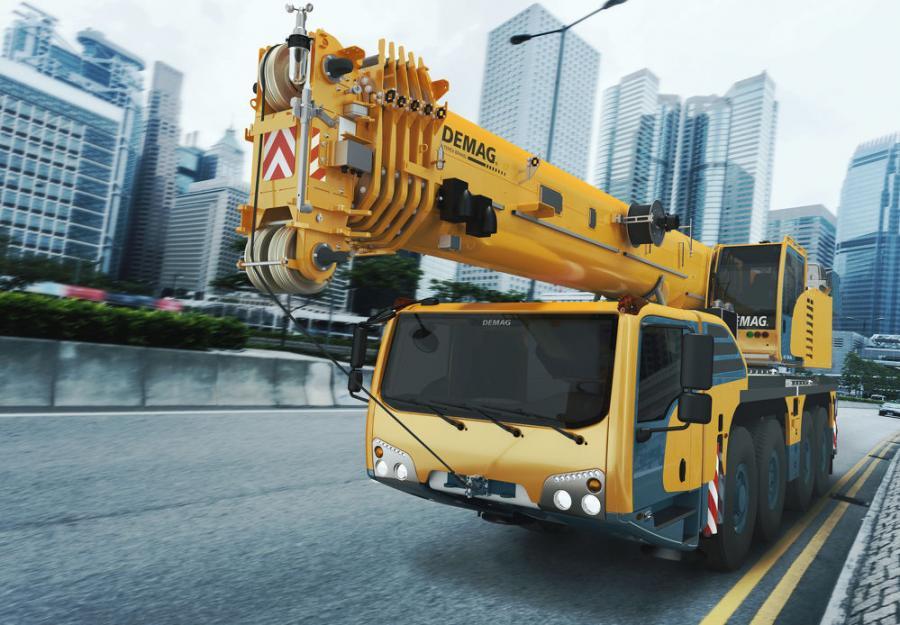 The Demag AC 100-4.