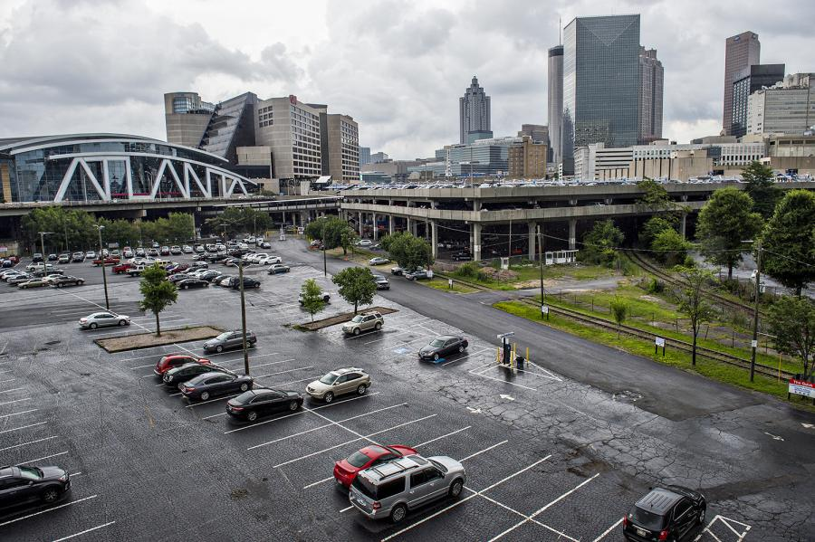 The development would include 18 buildings in a part of downtown Atlanta known as