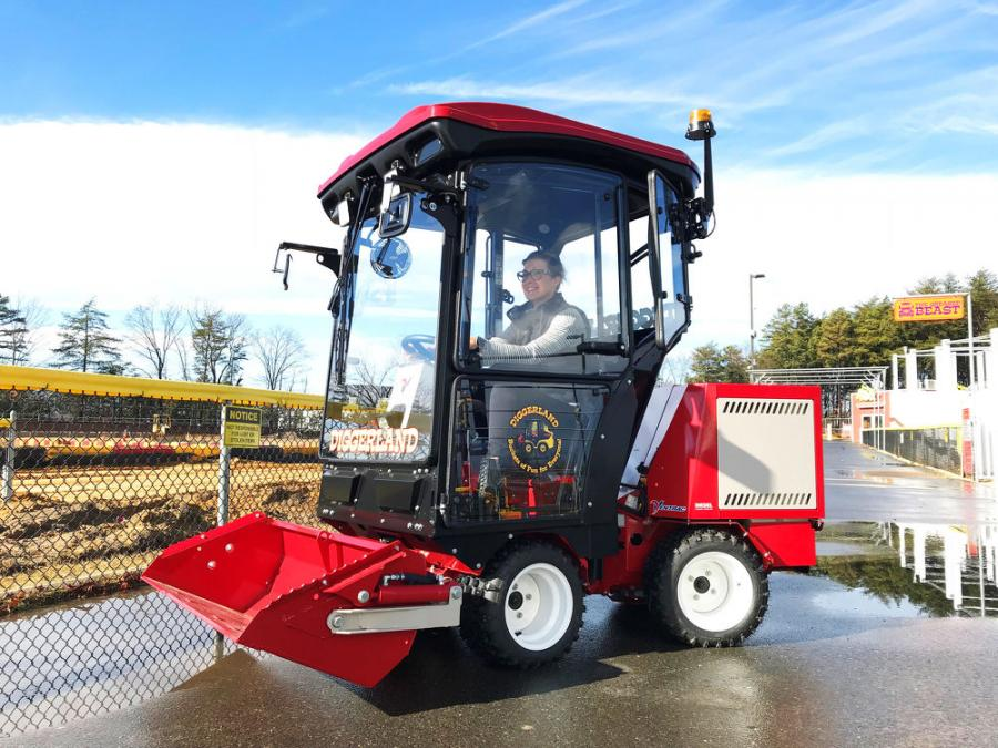 Diggerland debuts its latest attraction, the Ventrac 3400Y, as part of a massive 2018 expansion.