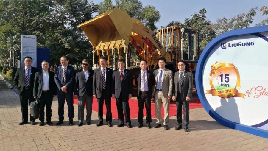 LiuGong India, a subsidiary of Guangxi LiuGongMachinery–one of the world's largest manufacturers of wheel loaders announces completion of its 15 years of business in India with a gala celebration for business partners, supporters and media.
