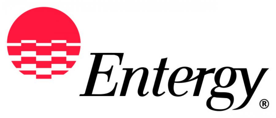 Entergy utility corporation's $872 million natural gas-fired generating station broke ground in southwest Louisiana.