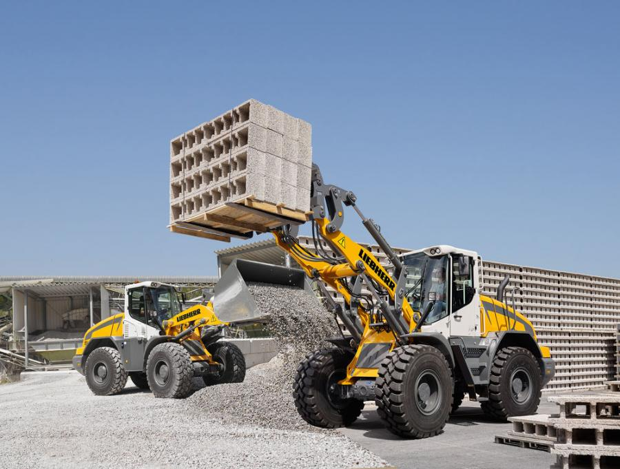 Liebherr's L 538 Tier IV Final wheel loader is suitable for a multitude of applications and can be used in a traditional capacity, for earthmoving or material handling of all types of construction material through the use of different attachments, according to the manufacturer.