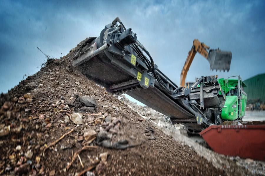 The Cobra 230 is the newest addition to the company's impact crushing range.
