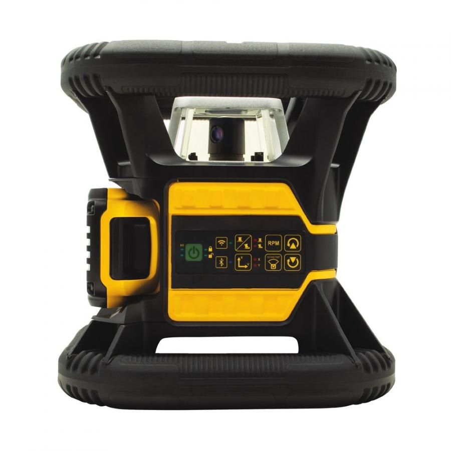 DeWalt debuted the newest 20V MAX* Bluetooth Enabled Green and Red Rotary Tough Lasers, three extended range Laser Distance Measurers, and a pocket-sized convenience Laser Distance Measurer at World of Concrete 2018.