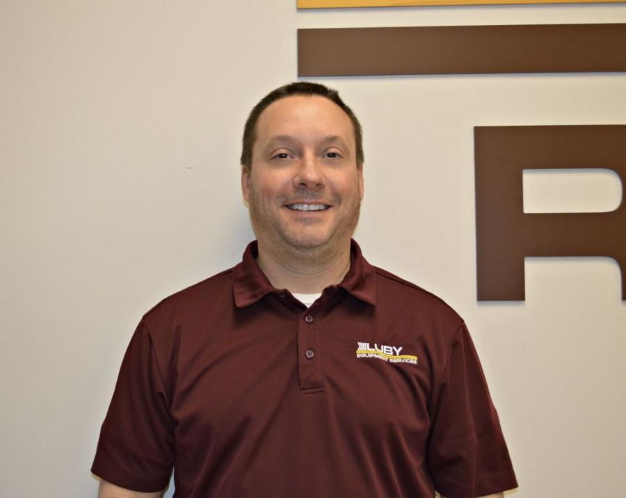 Vince Smith, rental manager of Luby Equipment Services.