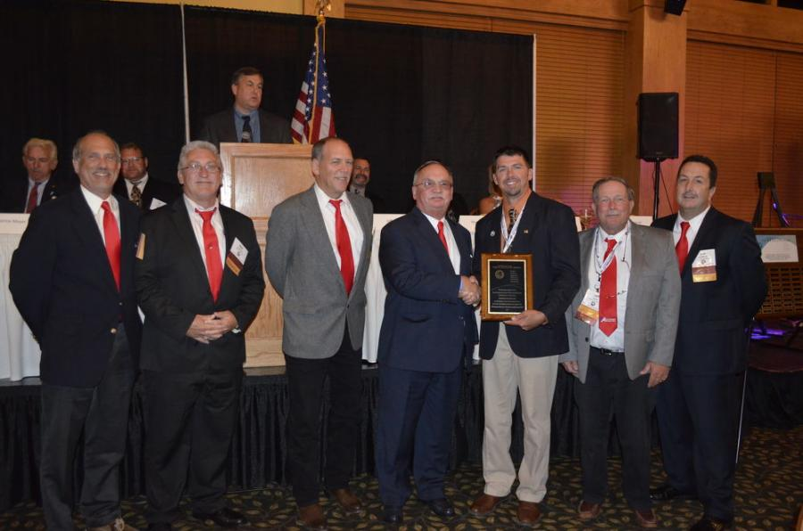On Sept. 21, 2017 Auctions International of East Aurora New York accepted the 2017 VISION award from the New York State Association of Towns Superintendents Of Highways (NYSAOTSOH) at their 88th Annual Conference, Education Symposium and EXPO Annual Banquet in Ellicottville, New York.