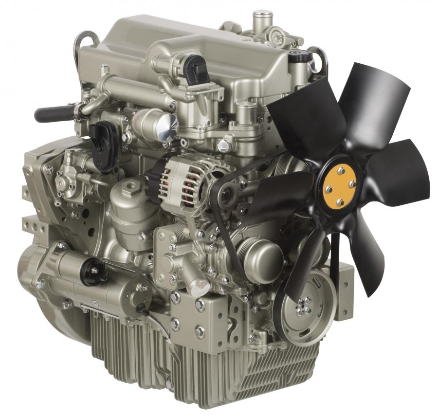 Designed to meet U.S. EPA Tier IV Final and EU Stage V emissions standards, the Perkins Syncro 3.6- liter engine delivers a powerful 134 hp (100 kW).