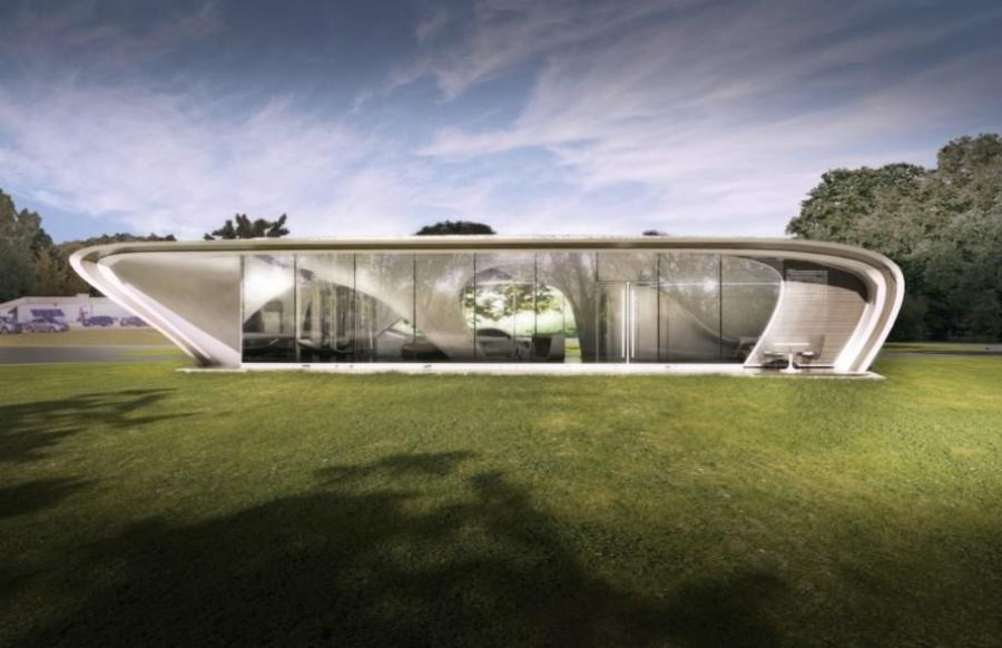 The WATG Urban design, which showcases a series of curved angles and windows, won the Freeform Home Design Challenge in 2016, inhabitat reported.
