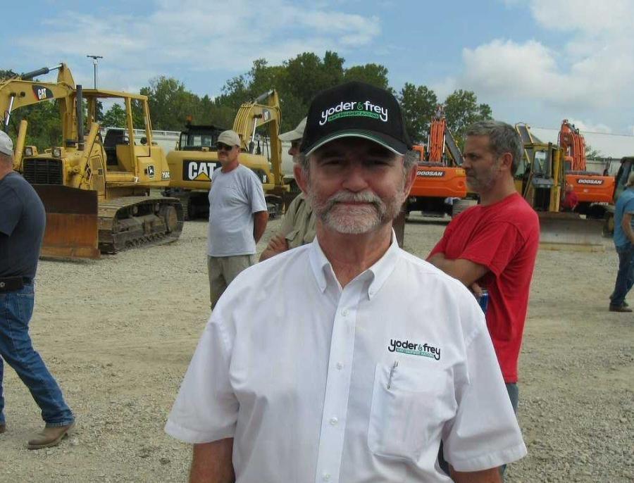 Peter Clark, president of Yoder & Frey