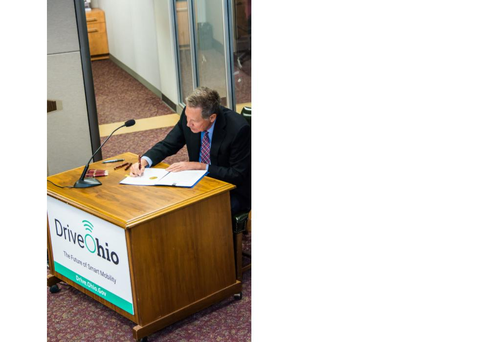 Gov. Kasich Launches DriveOhio with Executive Order.