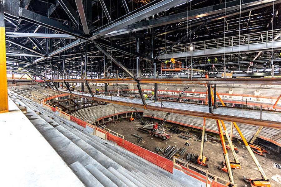 State officials required Olympia Entertainment to remove the contaminated soil during construction of the $863 million arena, The Detroit News reported.