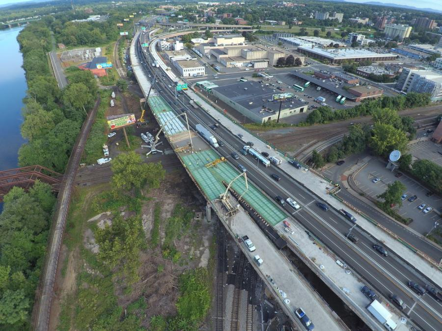 The work zone, in a major part of the city, included sections of the I-91 northbound and southbound, just south of State Street to the I-291 interchange ramps, and the replacement of various on- and off-ramps and sections of road.