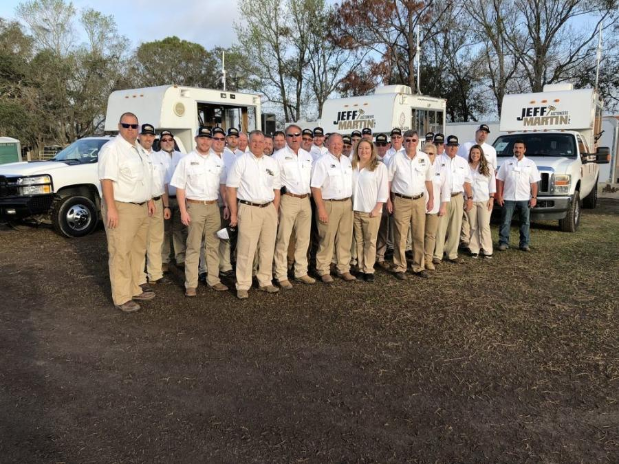 The Jeff Martin Auctioneers staff put on a very successful Florida Auctions debut.