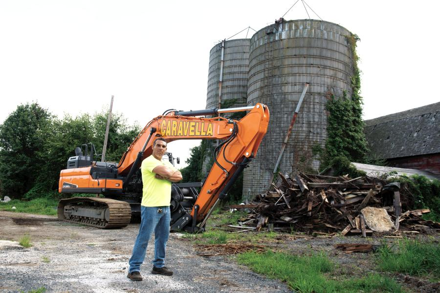 John Caravella is the owner of Caravella Demolition, an East Hanover, N.J., demolition firm that specializes in concrete crushing, excavating and site development.