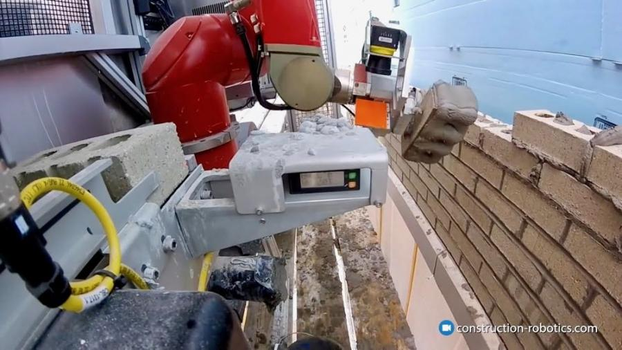 With the help of robots like SAM, the construction industry may be better able to handle the labor shortage it is currently facing due to a combined boom in construction projects and skilled workers who are aging out of the workforce.