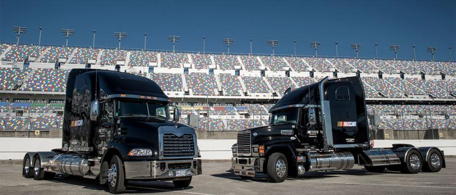 """We're looking forward to another great year with NASCAR, one that's especially exciting given the debut of our new Mack Anthem model as the sport's official hauler,"" said John Walsh, vice president of Mack marketing."