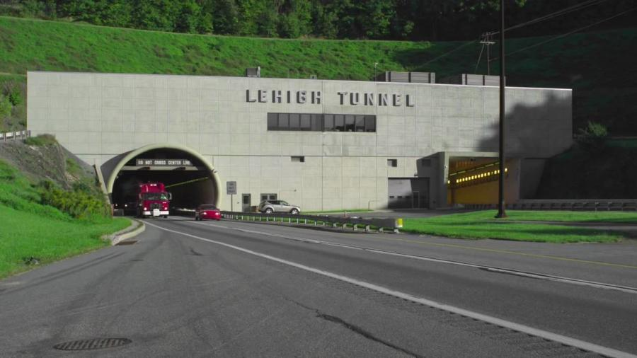 DeFebo said the Lehigh Tunnel's southbound tube is the only tunnel in the system in which electrical conduit is directly above drivers.